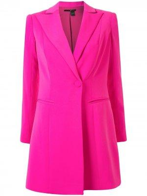 Платье-смокинг длины мини Ace Jay Godfrey. Цвет: розовый