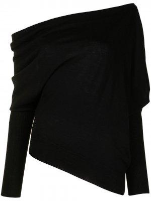 Джемпер Granger с открытыми плечами Altuzarra. Цвет: черный