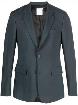 Однобортный пиджак Sandro Paris. Цвет: серый