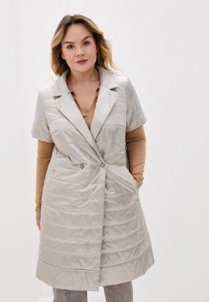 Куртка утепленная Modress. Цвет: бежевый