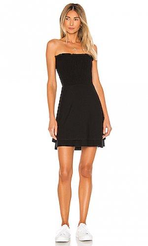 Платье Chaser. Цвет: черный