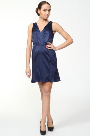 Платье Anna Rita N. Цвет: синий