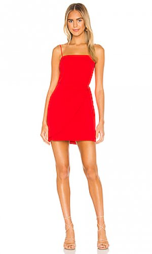 Мини платье stella Amanda Uprichard. Цвет: красный