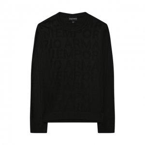 Пуловер Emporio Armani. Цвет: хаки