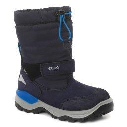 Полусапожки 710282 темно-синий ECCO