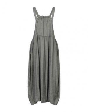 Платье длиной 3/4 FLY GIRL. Цвет: зеленый-милитари