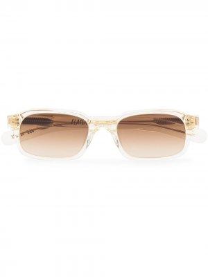 Солнцезащитные очки Hanky в круглой оправе FLATLIST. Цвет: нейтральные цвета