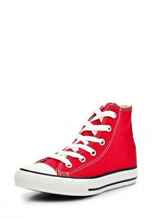 Кеды Converse YTHS C/T ALLSTAR HI RED. Цвет: красный
