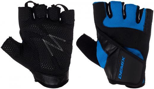 Перчатки для фитнеса Demix. Цвет: синий
