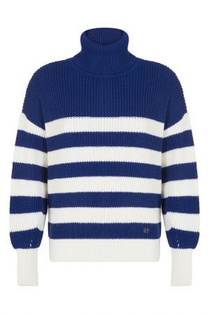 Пуловер FELIX HARDY. Цвет: blue, white