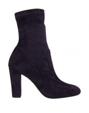 Полусапоги и высокие ботинки JET-SET Paris. Цвет: фиолетовый