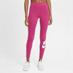 Женские леггинсы с высокой посадкой Sportswear Essential - Розовый Nike