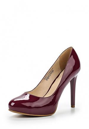Туфли Clotilde. Цвет: бордовый