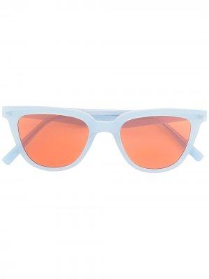 Солнцезащитные очки Tete в оправе кошачий глаз Gentle Monster. Цвет: синий