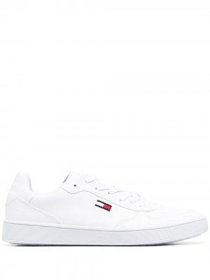 Кеды с логотипом Tommy Jeans. Цвет: белый
