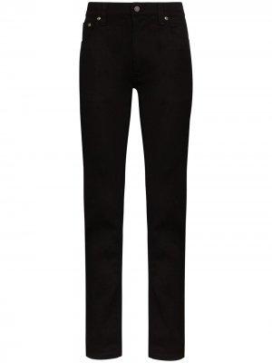 Джинсы скинни Tight Terry Nudie Jeans. Цвет: черный