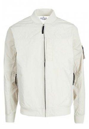 Куртка STONE ISLAND. Цвет: бежевый
