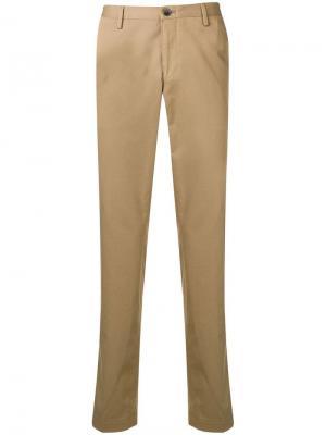 Классические однотонные брюки чинос Boss Hugo
