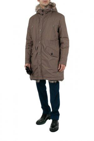 Куртка Cortigiani. Цвет: бежевый