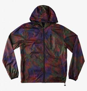 Куртка DC shoes Dagup Print Packable. Цвет: коричневый