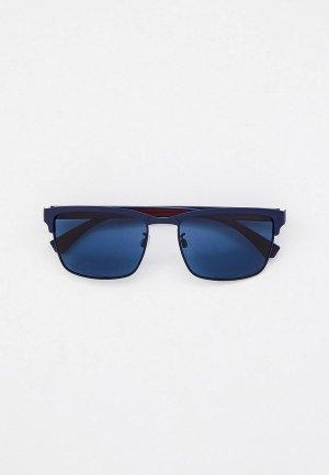 Очки солнцезащитные Emporio Armani EA2087 300380. Цвет: синий