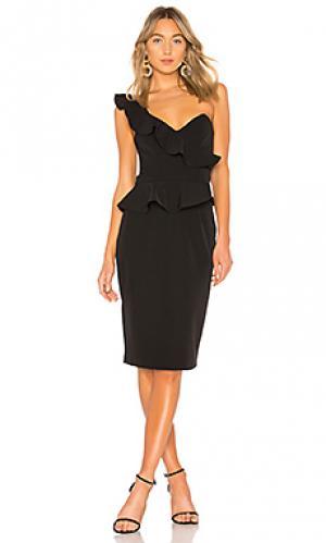 Платье carmelia Bardot. Цвет: черный