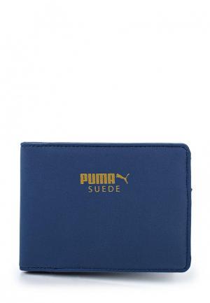 Кошелек Puma Suede Billfold Wallet. Цвет: синий