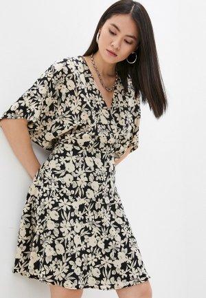Платье Gerard Darel. Цвет: разноцветный