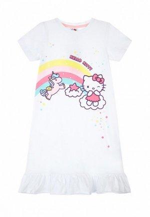 Сорочка ночная PlayToday. Цвет: белый