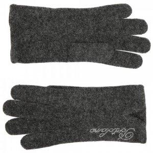 Перчатки Portolano. Цвет: серый