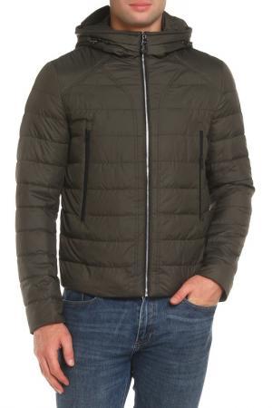 Куртка Clasna. Цвет: зеленый
