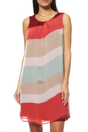 Платье Comma. Цвет: мультицвет