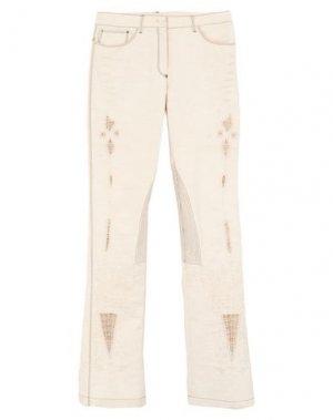Повседневные брюки ANTONIO BERARDI. Цвет: бежевый