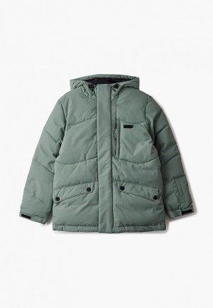 Куртка сноубордическая Termit. Цвет: зеленый