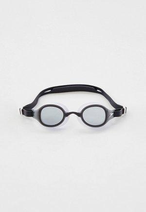 Очки для плавания Speedo Hydropure. Цвет: черный