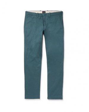 Повседневные брюки J.CREW. Цвет: цвет морской волны