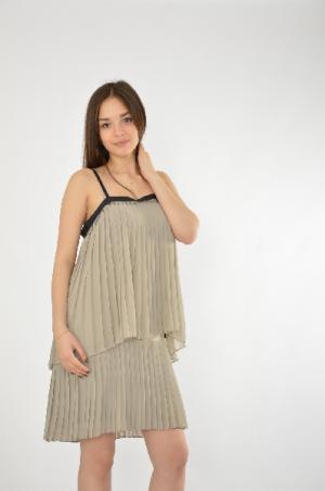 Платье COP.COPINE. Цвет: серый