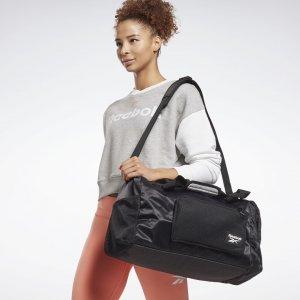 Спортивная сумка Tech Style Grip Reebok. Цвет: black / black