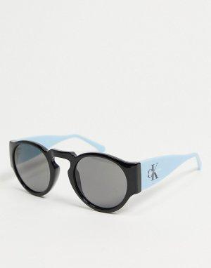 Солнцезащитные очки с логотипом CKJ18500S-Голубой Calvin Klein Jeans