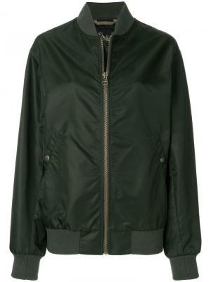 Куртка-бомбер свободного кроя Mr & Mrs Italy
