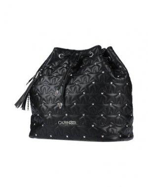 Рюкзаки и сумки на пояс CAFèNOIR. Цвет: черный