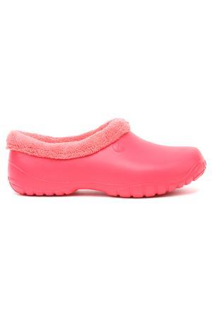 Галоши утепленные OYO. Цвет: розовый