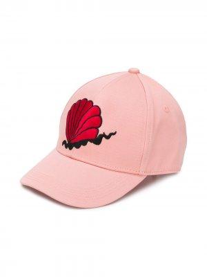 Бейсболка Shell Mini Rodini. Цвет: розовый