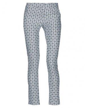 Повседневные брюки ANDREA TURCHI. Цвет: пастельно-синий