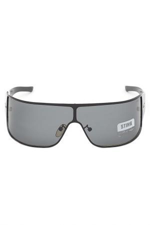 Cолнцезащитные очки Sting. Цвет: черный