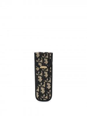 Футляр для ручек с узором Trotter Christian Dior. Цвет: коричневый