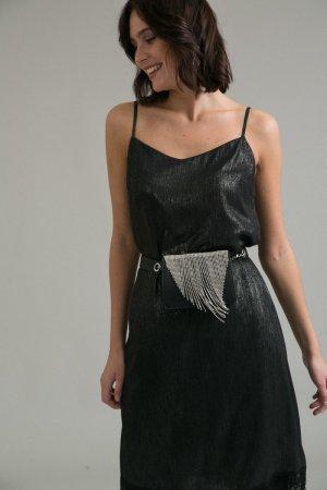 Платье с кружевом EMKA