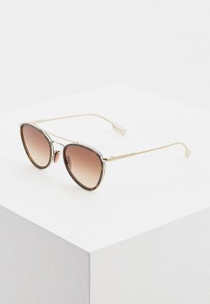 Очки солнцезащитные Burberry BE3104 114513. Цвет: коричневый