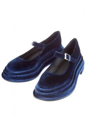 Туфли JEFFREY CAMPBELL. Цвет: темно-синий