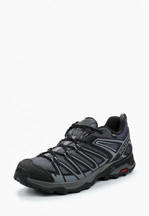 Ботинки трекинговые Salomon X ULTRA 3 PRIME GTX®. Цвет: серый